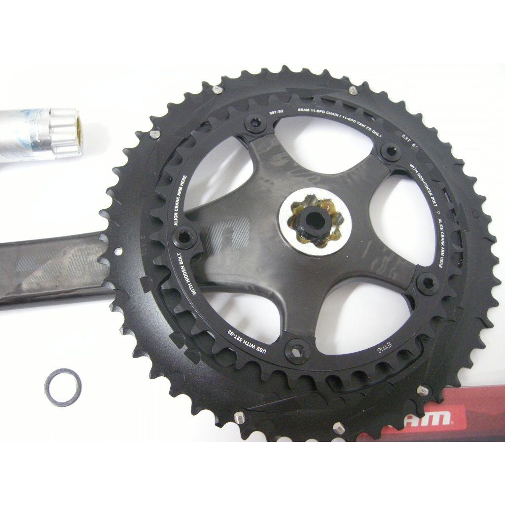 BB30//PF30-68mm Carbon KURBEL SRAM RED® 2x11-fach 52//36-172,5 mm NEU