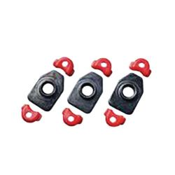 RC900 Cleat Nut Set black