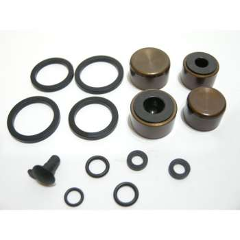 Ultimate CALIPER PISTON KIT 4 PISTON 16MM 14MM AL