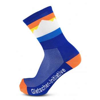 Gletscher-Initiative - Velosocken - 18 cm