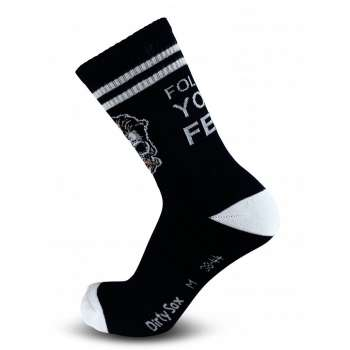 Follow Your Fear - MTB Trail Socken - 20 cm